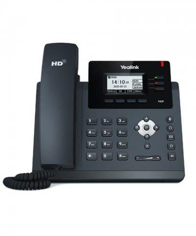 yealink t40p voip toestel, overal bellen op kantoor