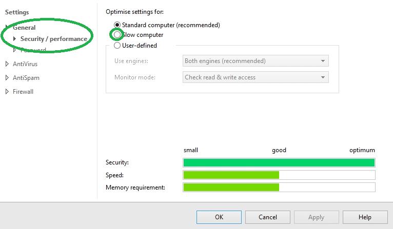 instellingen-langzame-computer