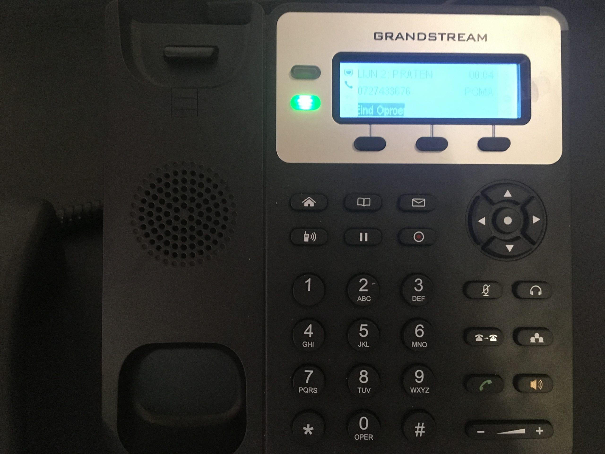 VoIP: instellen en werken met Free-seating