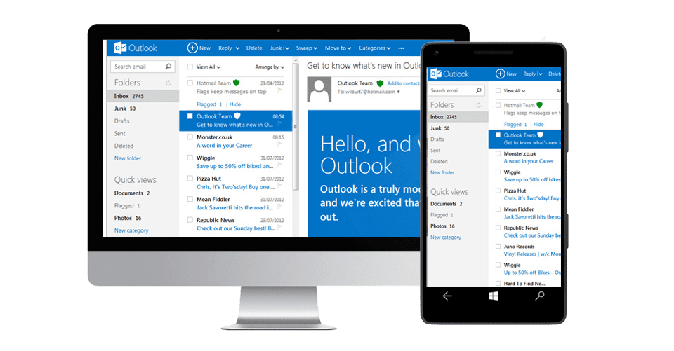 Hosted e-mail vs Office 365 exchange online