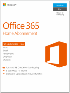 office 365 home voor thuisgebruik