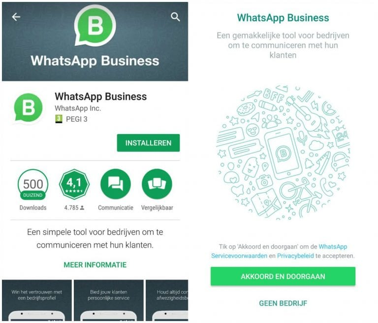 Whatsapp for business whatsapp voor bedrijven