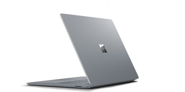 surface laptop achterkant