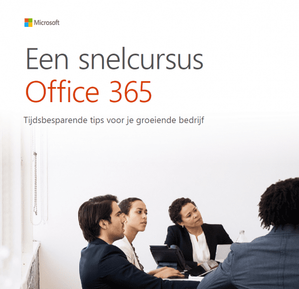 Een snelcursus Office 365 en Microsoft 365