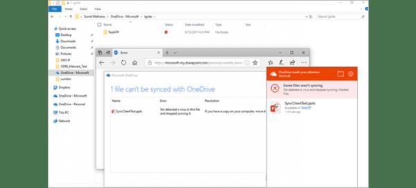Office 365 Advanced Threat Protection bestanden worden gecontrolleerd op bedreigingen