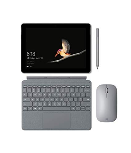 Surface go met LTE keyboard, pen en muis
