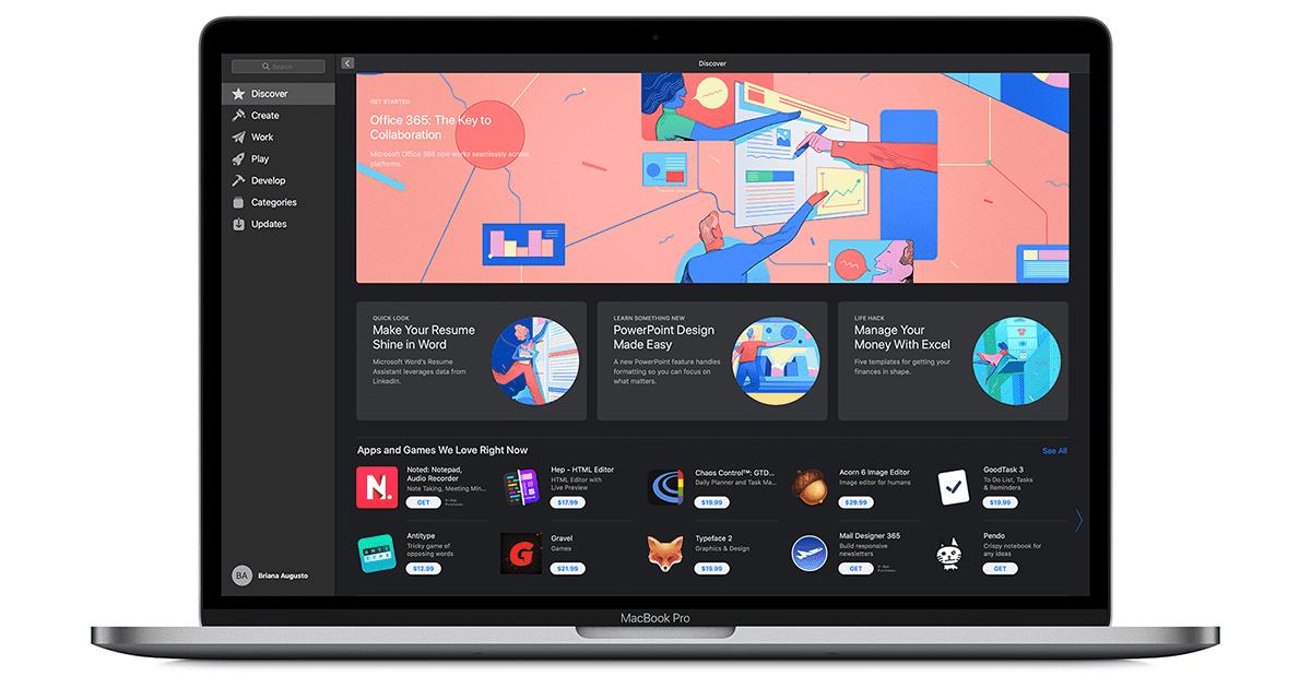 Office 365 voor Mac is beschikbaar in de Mac App Store