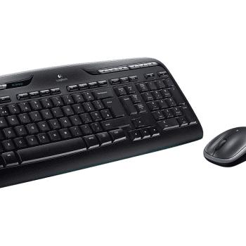 logitech desktop set mk 330