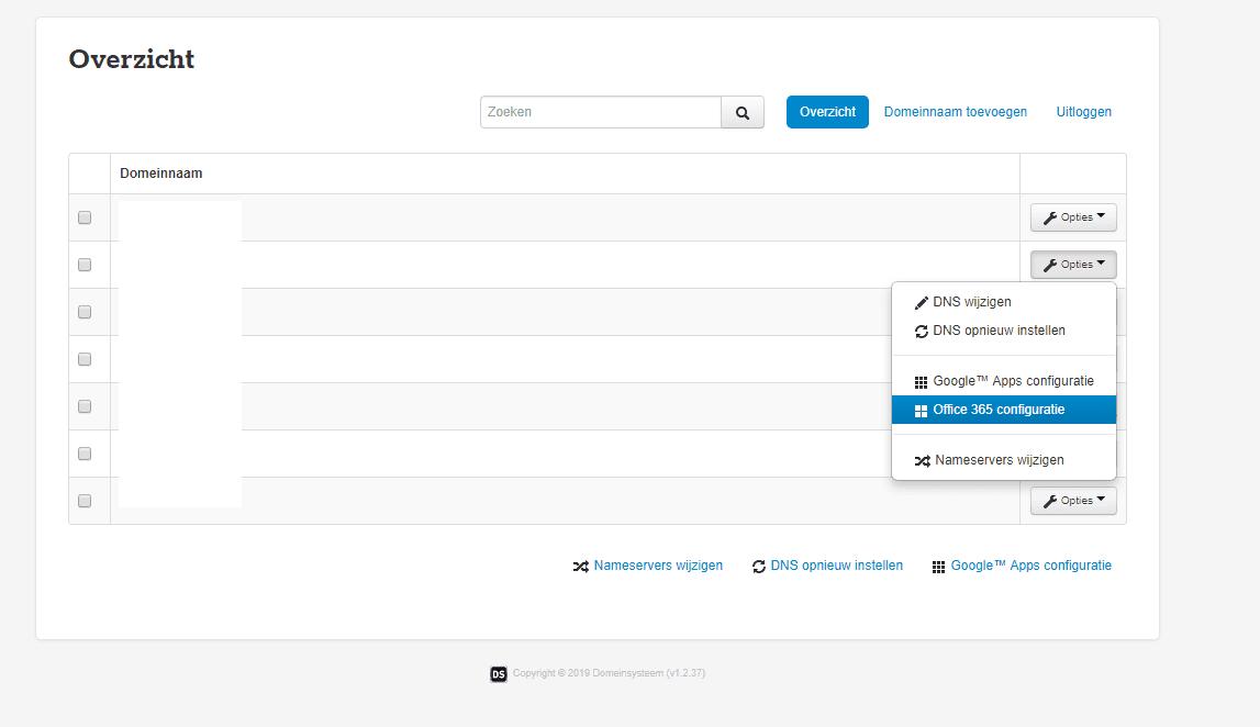 Hoe kan ik mijn DNS instellen voor Office 365 voor Bedrijven