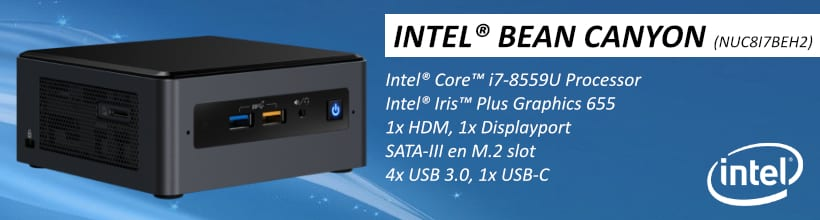 Intel Nuc mini desktop