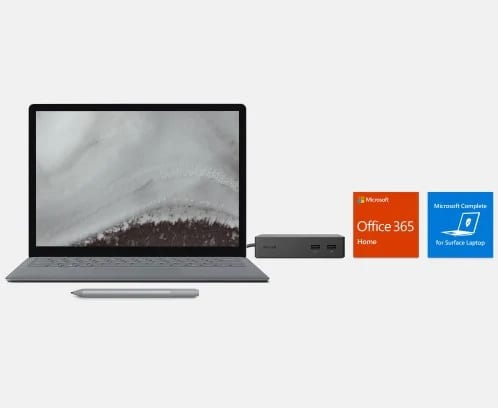 Microsoft surface laptop voor bedrijven