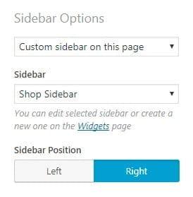 specifieke sidebar op een wordpress pagina