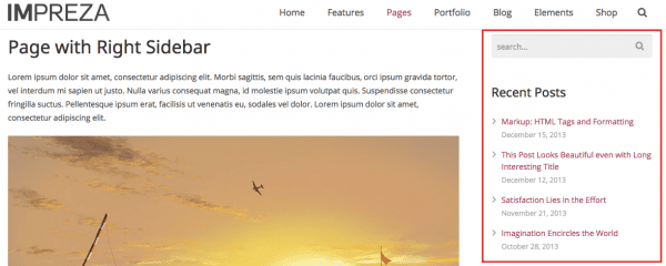 Wordpress widgets toeveogen an de zijbalk
