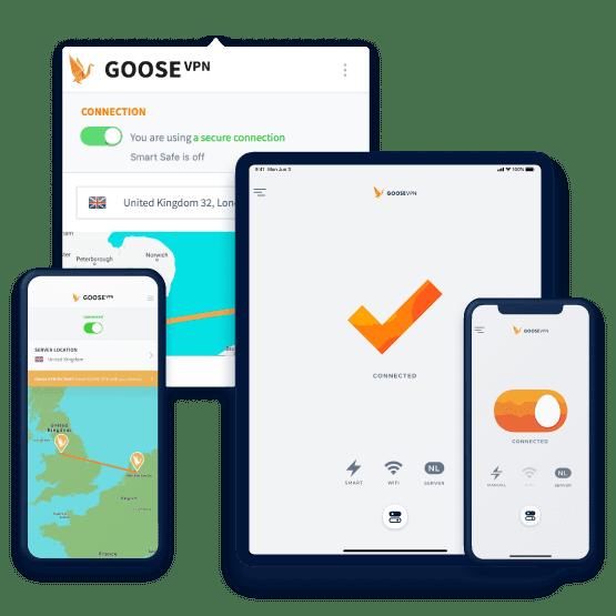 Goose VPN veilig online werken