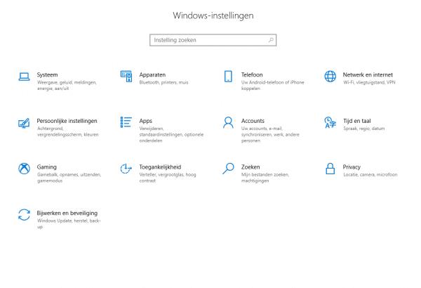 Automatisch opstarten Skype app uischakelen stap 1