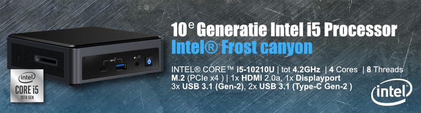 Intel mini desktop frost canyon