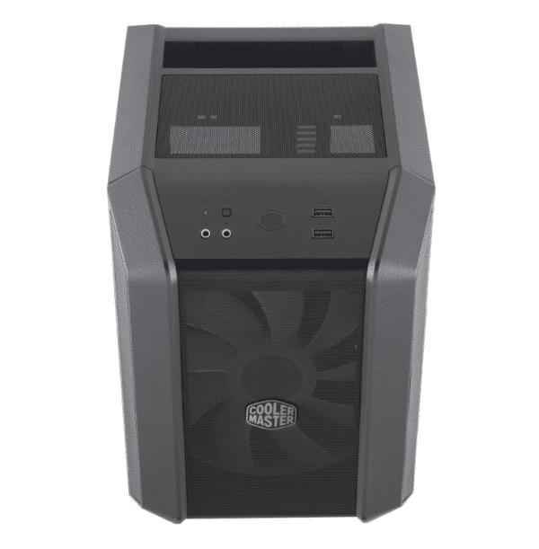 Coolermaster h100 ARGB AMD Ryzen bovenkant
