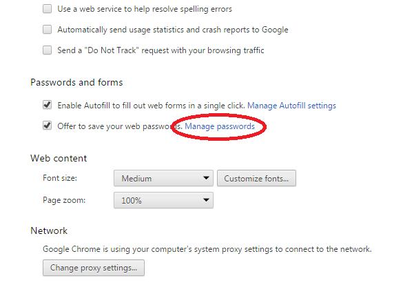 account verwijderen uit google chrome