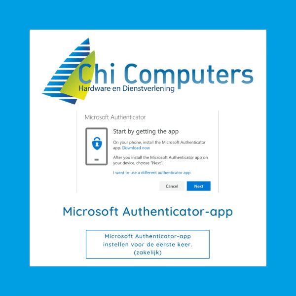 Microsoft Authenticator-app instellen